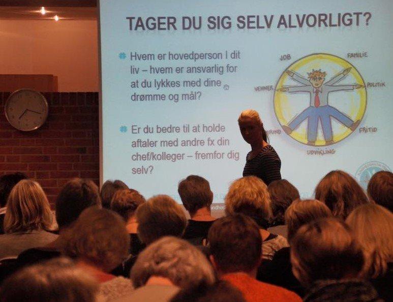 Foredrag med Louise Hallundbæk
